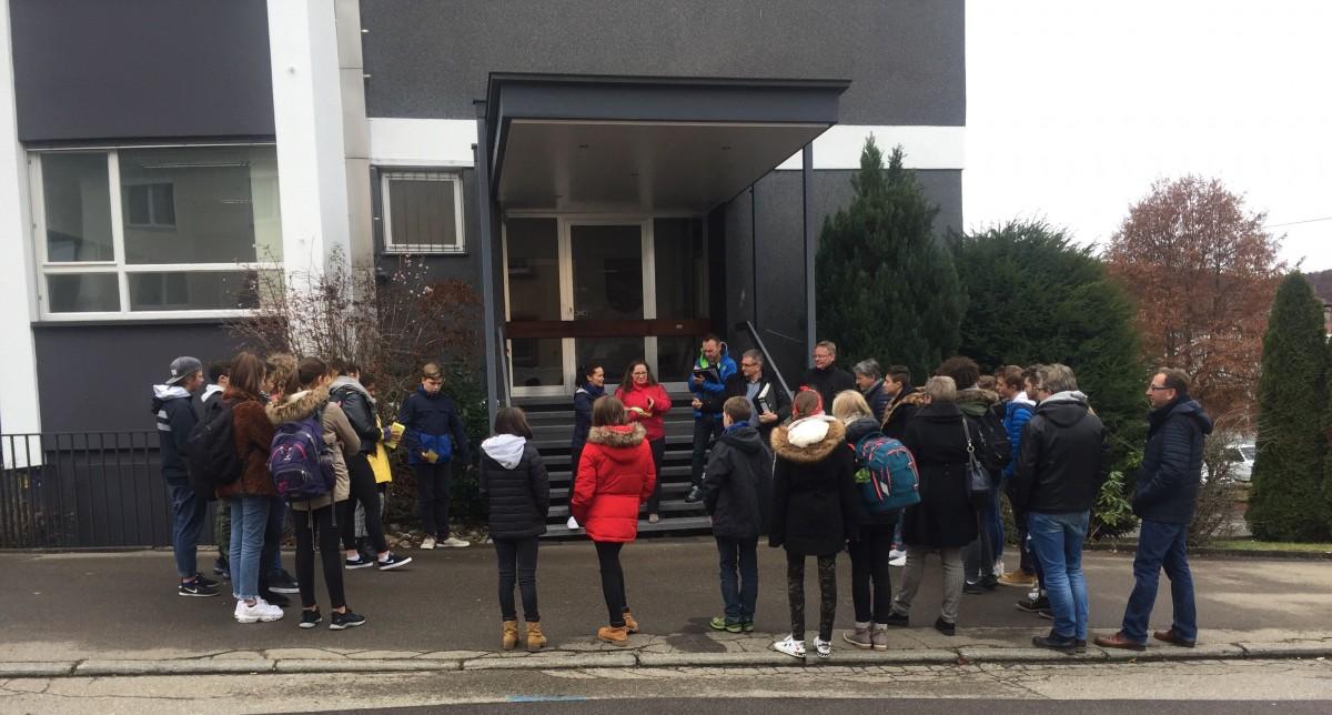 "Schülerinnen und Schüler der Arbeitsgruppe ""Lammerberg Schulzentrum"