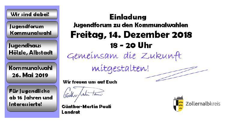Kommunalwahlen 2019 in Albstadt